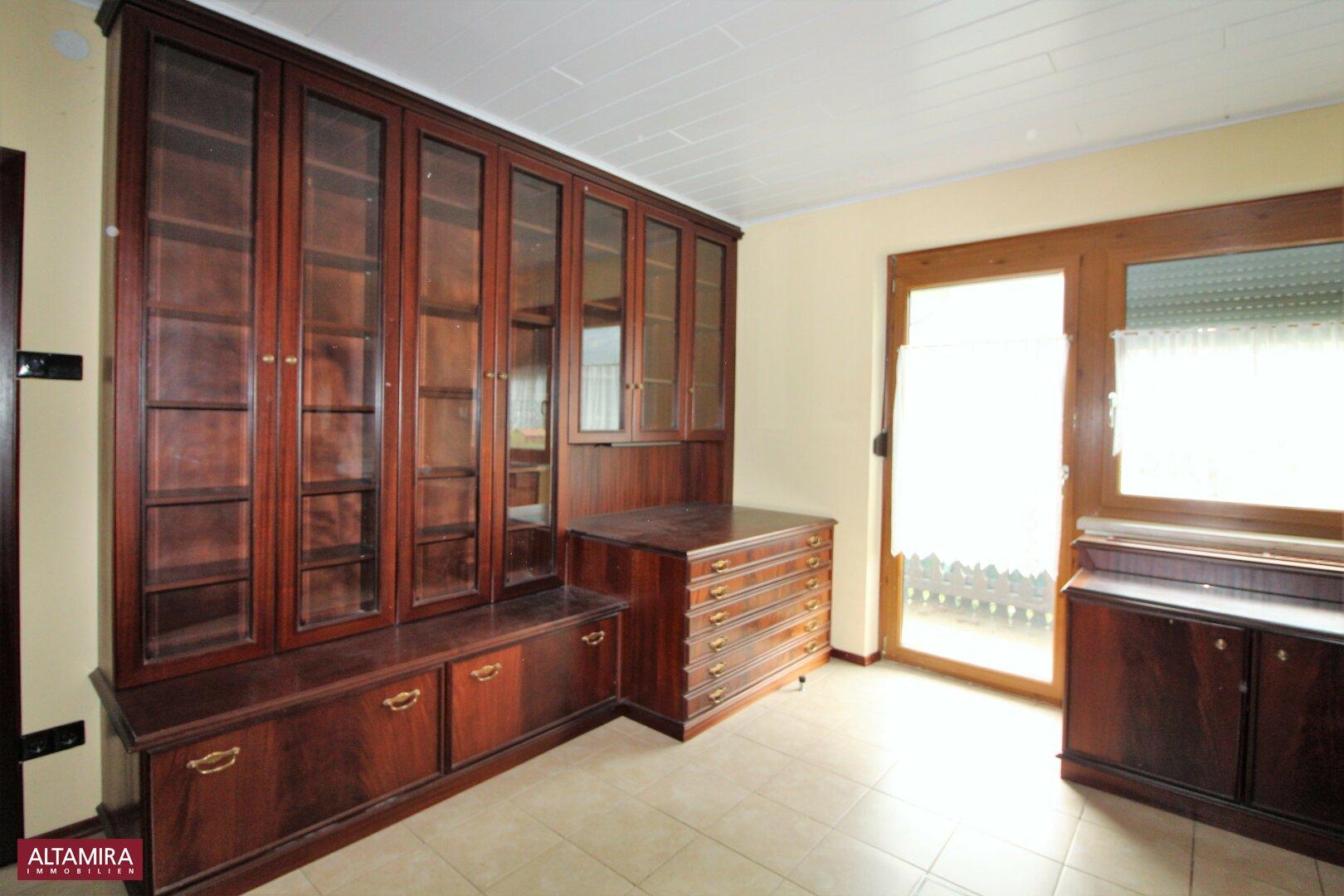 Zimmer 3 mit Balkonausgang