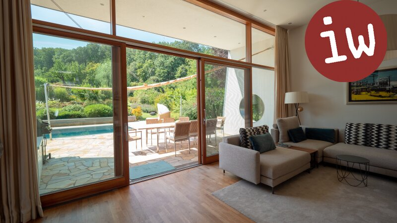Villa - Meisterwerk zeitgenössischer Architektur in fantastischer Grünruhelage Objekt_553 Bild_162