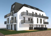 TOP 12 Erstbezug: Sonniges Dachgeschoss - Apartment mit Terrasse nahe Nationalpark Donau-Auen!