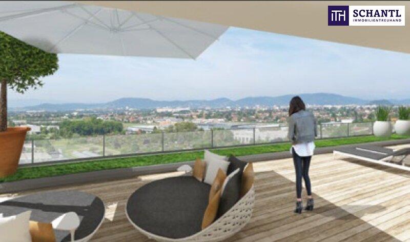 GENIEßEN  SIE IHRE  EIGENE ca. 61 m2 SONNENTERRASSE!  Wohnbauprojekt im GRÜNEN ST.PETER. Für Anleger wird eine maßgeschneidertes Finanzierungs- und Steuerkonzept angeboten.