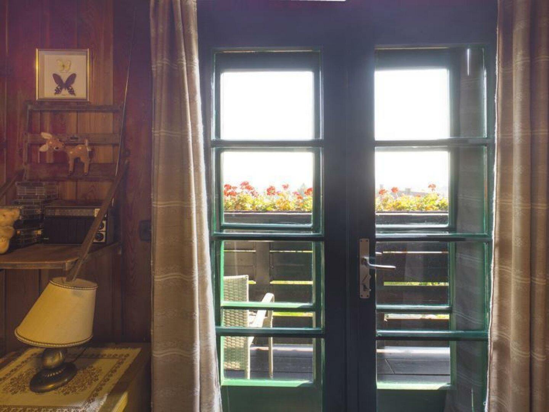 beide Schlafzimmer haben Balkonblick