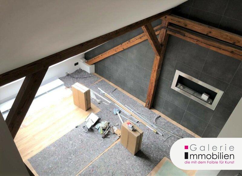 Perfekt ausgestattete Dachgeschoßwohnung mit Parkplatz und Eigengarten - Grünblick Objekt_34783