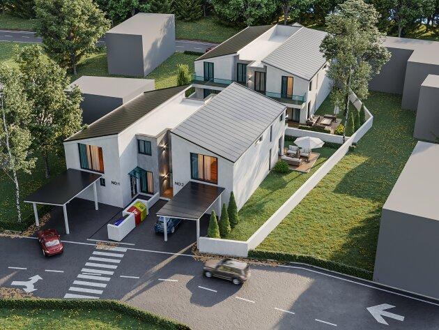 Foto von ++Einzigartig++  Ideal aufgeteilte 4-5 Zimmer Doppelhaushälfte im Zentrum Parndorfs