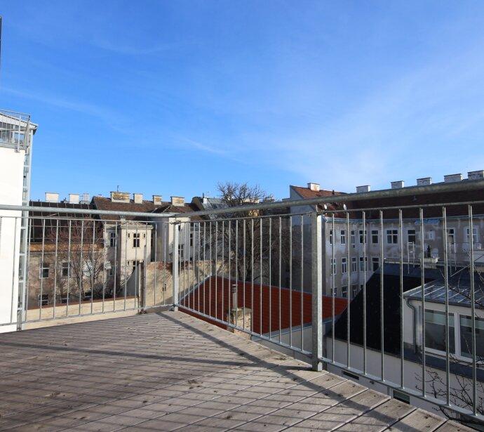 Schöne Terrassenwohnung - Erstbezug im Ottakringer Hippviertel