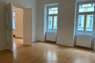 Großzügige 2 - Zimmer Altbauhauptmiete Nähe Taborstraße!