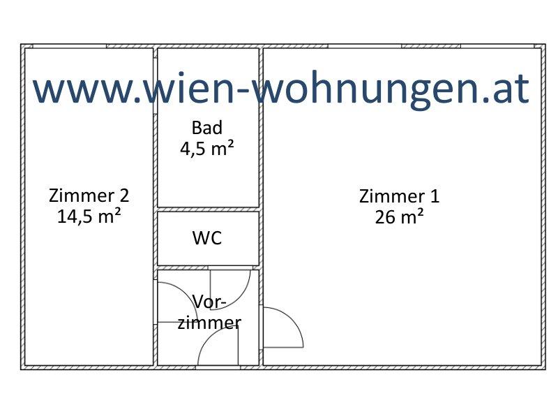 sehr gepflegte Zwei-Zimmer-Neubau-Wohnung /  / 1100Wien / Bild 2