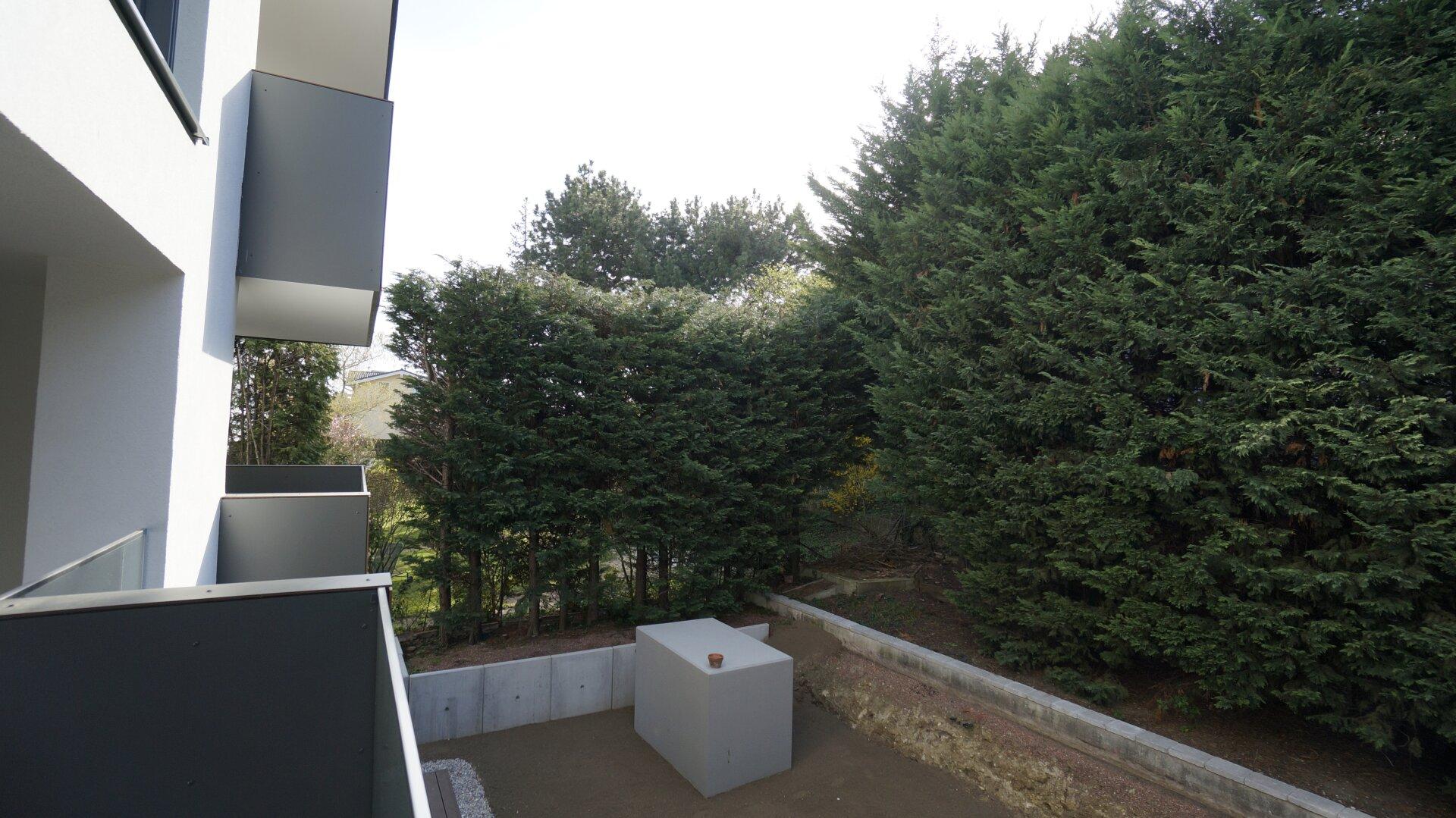 Ausblick von Loggia/Balkon