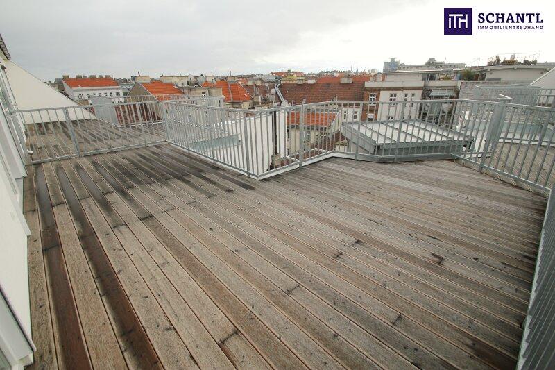 Ab ins Dachgeschoss! Erstbezug mit großer Terrasse im Dachgeschoss zum Bestpreis! City Nähe