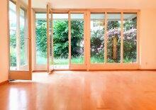 Gartenwohnung in Top-Lage - mitten in Maxglan; 3 Zimmer, großzügige Terrasse, 180 m² Garten; TG-Platz