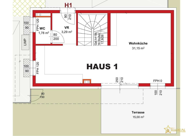 HAUS 1 Erdgeschoss