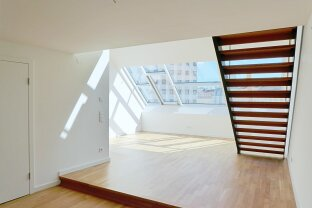 Moderne DG-Maisonettewohnung - 3 Zimmer - Loggia - Nähe Altes AKH
