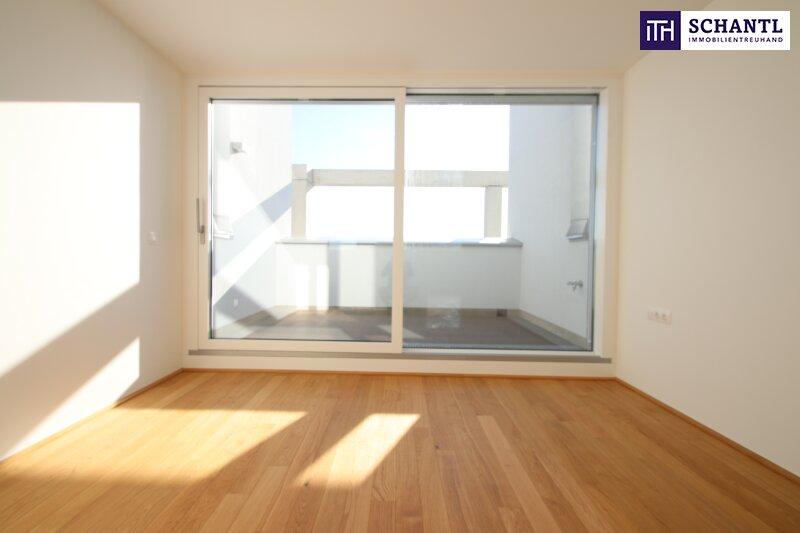 Zu Hause im Urlaub! Erstbezug im Dachgeschoss auf zwei Ebenen mit 4 Terrassen! Provisionsfrei!!! /  / 1220Wien / Bild 14
