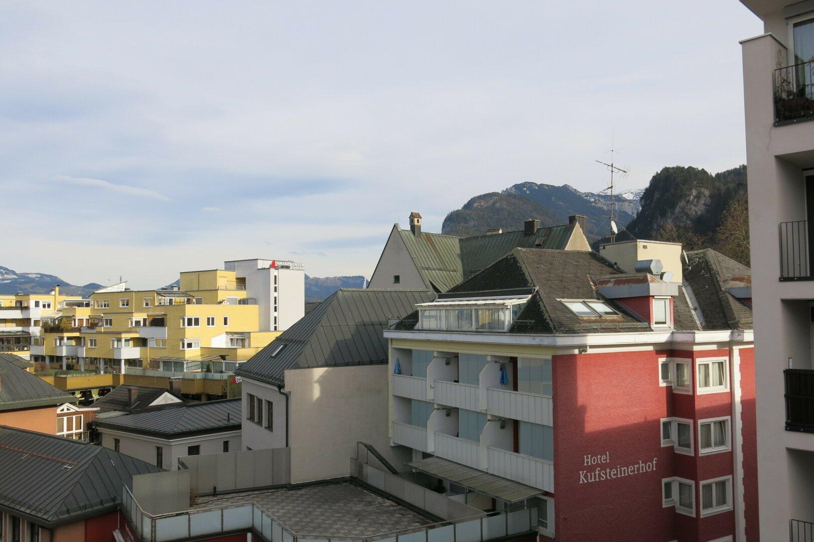 Ausblick, 3-Zimmer Wohnung Kufstein Zentrum