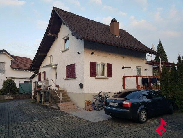 Wohnhaus in Sackgasse