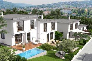 Grünruhelage am Fuße des Ölbergs Klosterneuburg Moderne Häuser Provisionsfreier Erstbezug