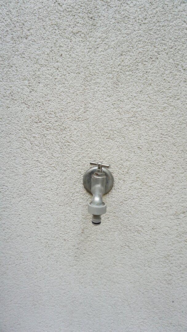 Wasseranschluss Terrasse