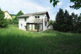 KLOSTERNEUBURG Villenlage Einfamilienhaus auf 3 Etagen 192 m² NFL /666 m² Grund Zubau mit mindestens 120 m² möglich