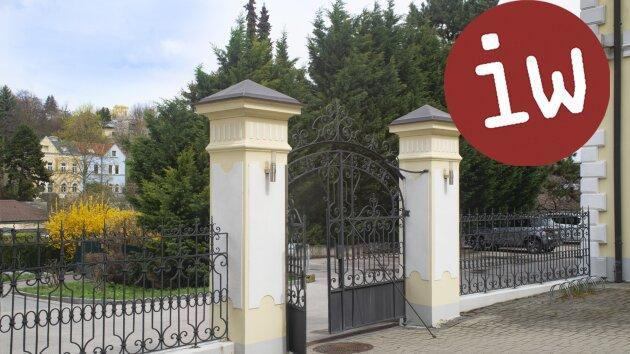 Rarität! Wohnen in historischem Herrenhaus, Grünblick, 2 Balkone