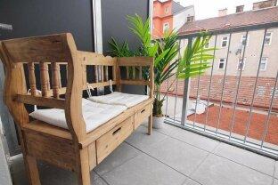 hofseitige 2-Zimmer-Neubauwohnung mit Balkon ab 01.11 beziehbar!