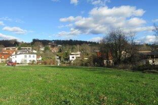 Toplage Graz-St.Veit: Baugrundstück mit 990 m²