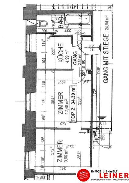 Schwechat: 2 Zimmer Arbeiterquartierwohnung sofort verfügbar! Objekt_8845 Bild_533