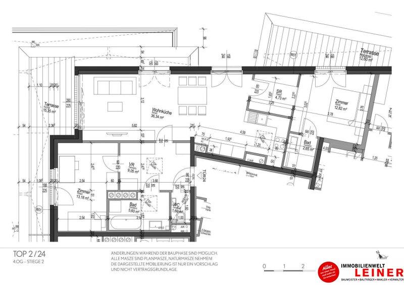 Schwechat - Penthouse - inklusive 28 m² Terrasse Objekt_9966 Bild_287