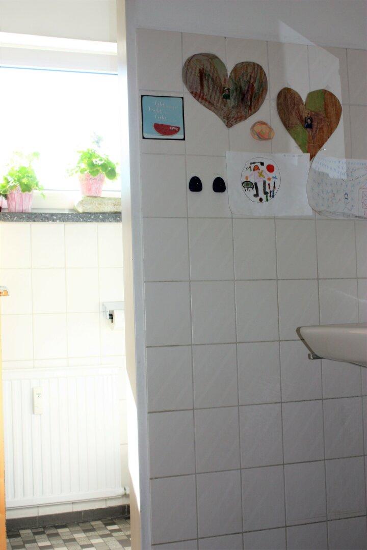WC mit Waschmaschinenanschluss, zweites WC vorhanden