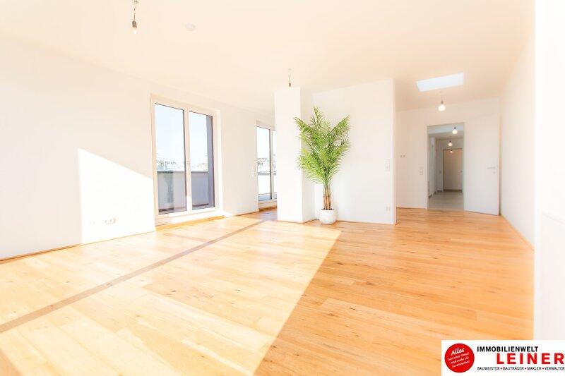 100 m² PENTHOUSE *UNBEFRISTET*Schwechat - 3 Zimmer Penthouse im Erstbezug mit 54 m² großer südseitiger Terrasse Objekt_8814 Bild_423