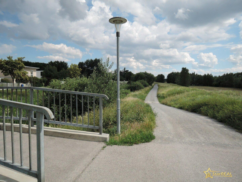 Lage am Radweg
