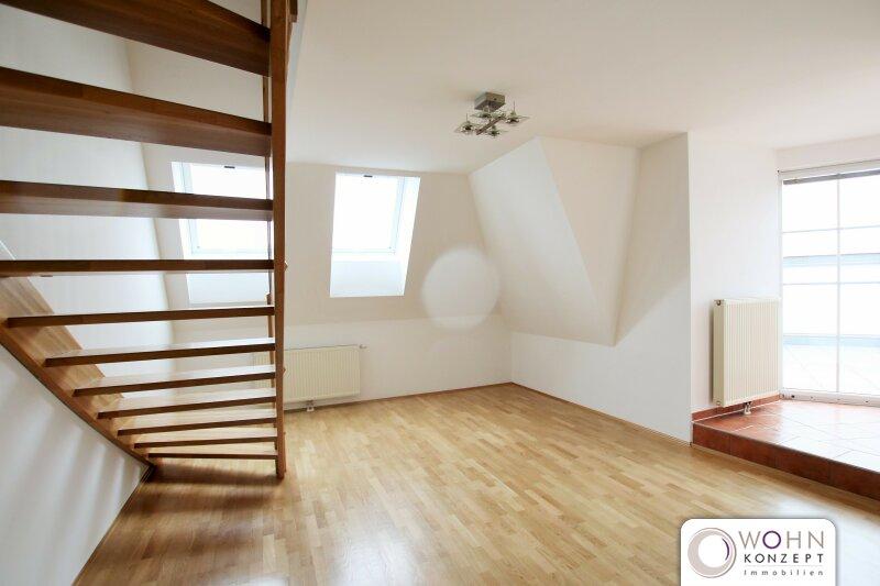 Traumhafte Dachterrassen-Maisonette in repräsentativem Altbau - schön renoviert auf 91m² mit Einbauküche 1040 Wien /  / 1040Wien / Bild 0