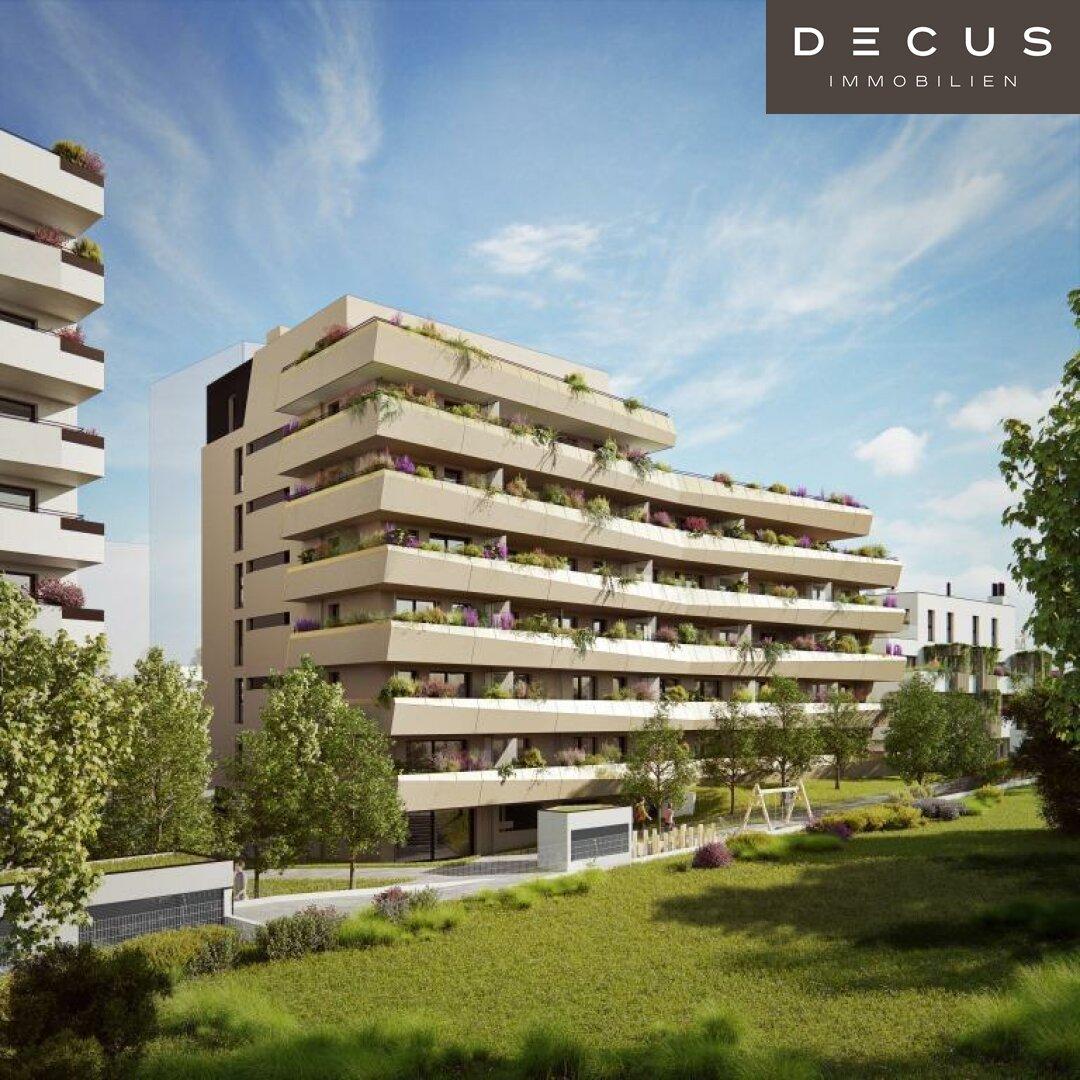 Gebäude Visualisierung Ostansicht