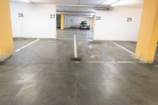 Garagenplätze in der Grundsteingasse 41, nähe Brunnenmarkt
