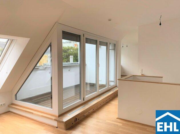 Freundliche 4 Zimmer Maisonettewohnung mit Terrasse