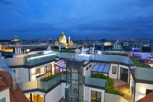 The Ring Penthouse mit Dachpool und traumhafter Aussicht