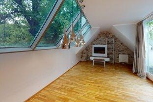 WOHNEN DER EXTRAKLASSE - Dachgeschoßtraum mit privater Grün-Ruhe-Oase