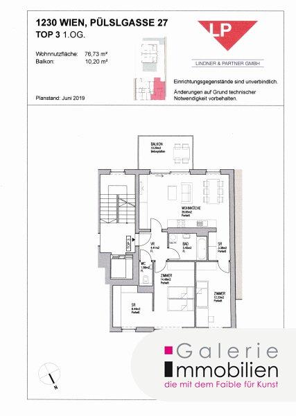 Toplage am Liesingbach - Sonnige 3-Zimmer-Neubauwohnung mit Balkon Objekt_33816 Bild_156