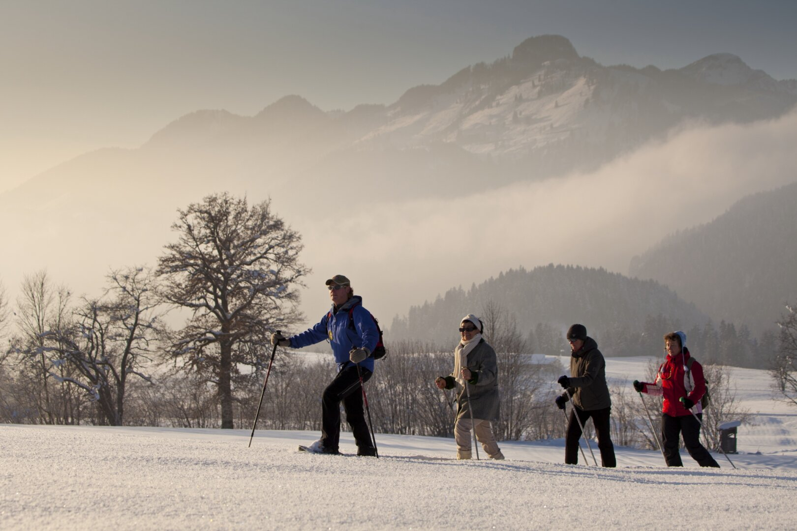 Wintersport Umgebung