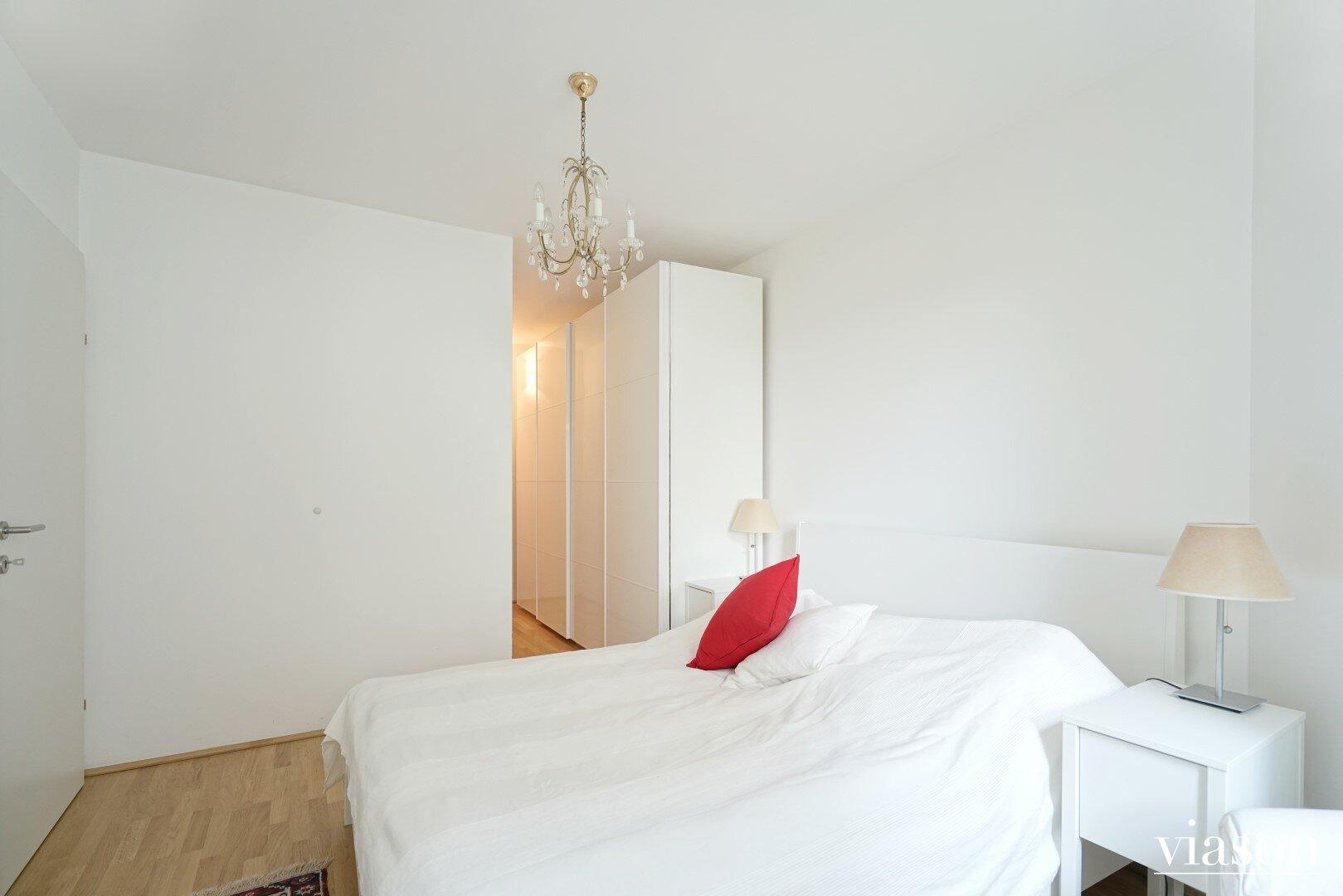 Schlafzimmer Innenhof