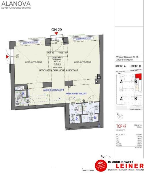 Historisches Geschäftslokal im Zentrum von Schwechat Objekt_10488 Bild_280