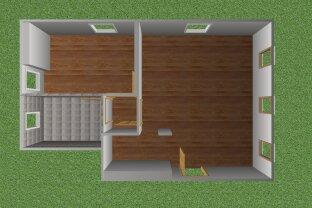 Perfekte 2 Zimmer Dachgeschoss Wohnung mit Parkplatz