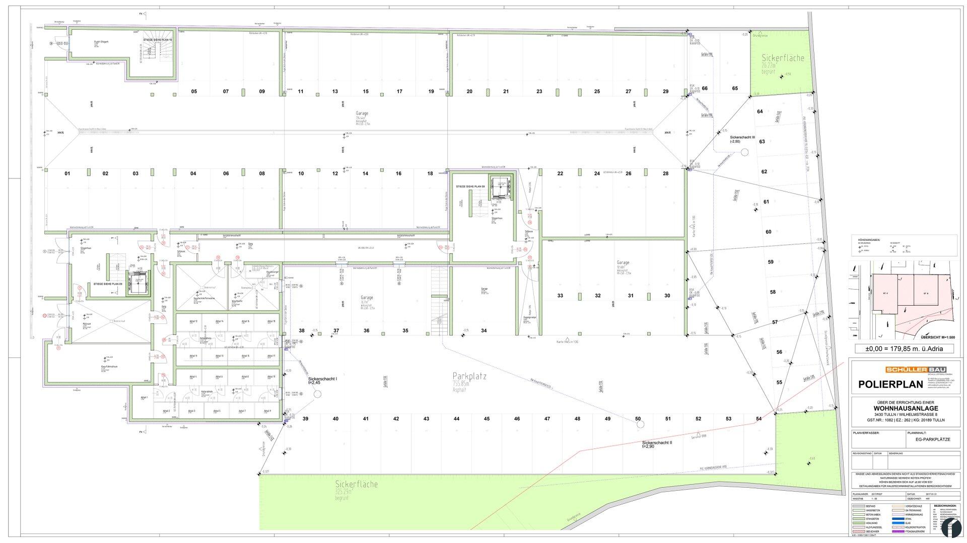 Parkplatz Plan