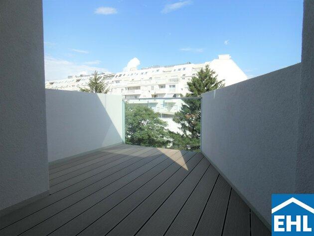 Moderne Eigentumswohnung - Dachgeschoss - Nahe Kagraner Platz
