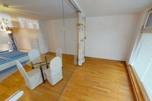 VR-Rundgang: Kirchengasse: 2 Zimmer mit Garten und Terrasse **** auch als Büro / Verkaufsfläche geeignet!