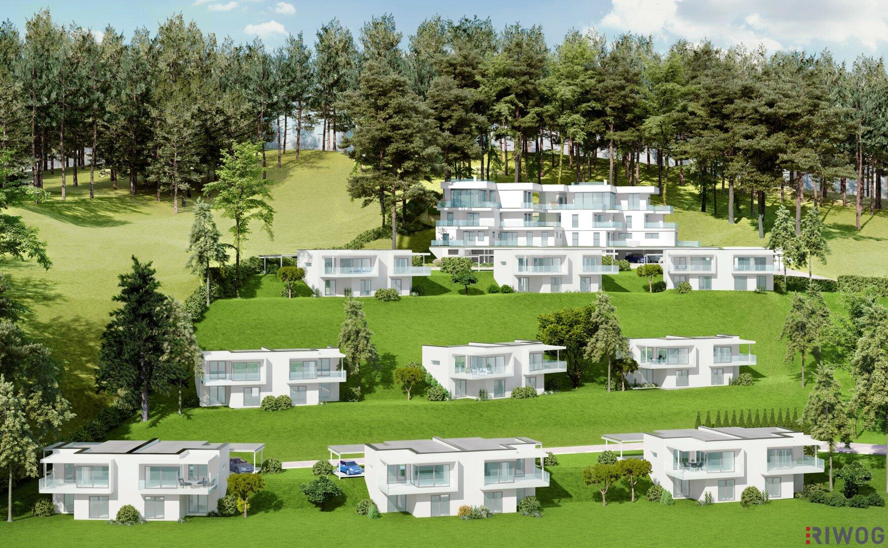 *Voitsberg* - Neubauprojekt mit Doppelhäuser und Eigentumswohnungen (Projektansicht)