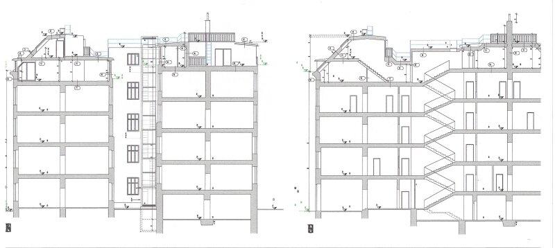 Terrassenhit über den Dächern, Neubau (Ausbau von Altbau) - schlüsselfertig, 19 m2 Terrasse, Nähe U6-Nußdorferstraße! /  / 1180Wien / Bild 9