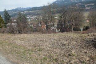 Grundstück  Paternion/ Nikelsdorf - mit Blick ins Drautal