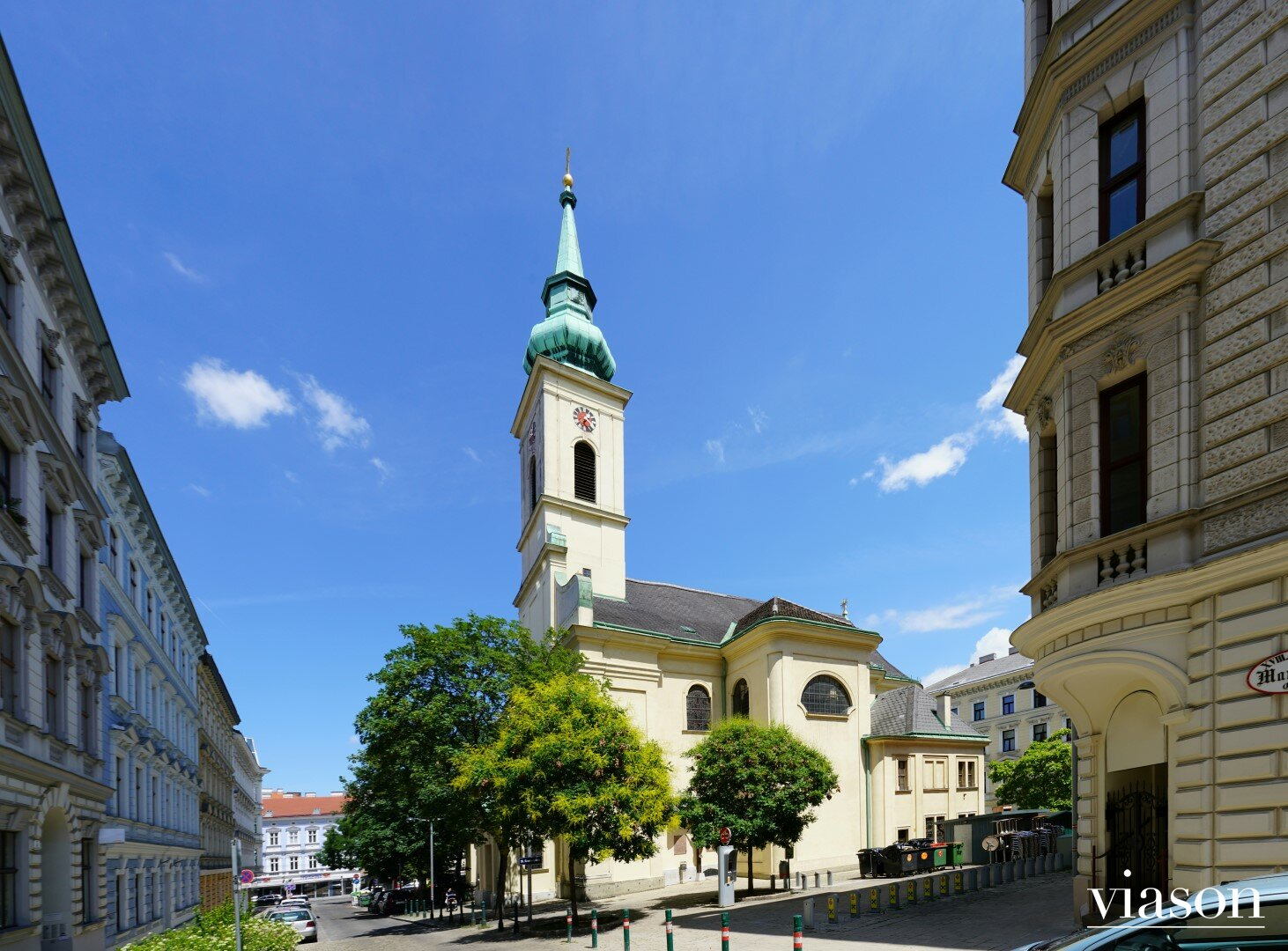 Kirche beim Kutschkermarkt