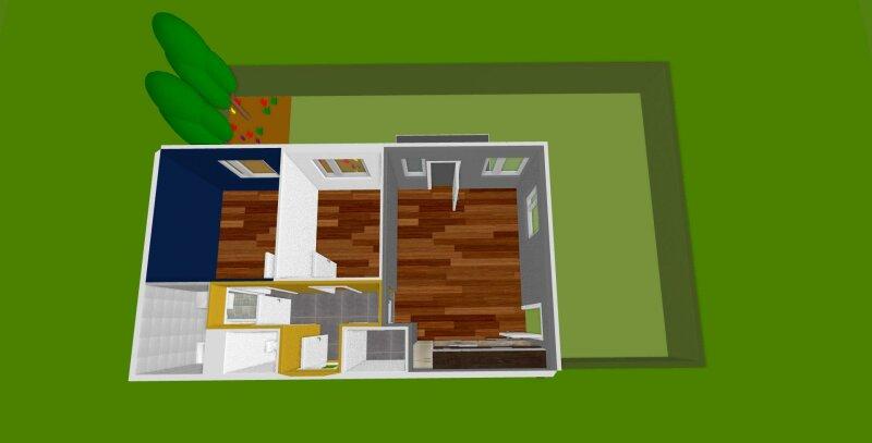 Provisionsfreier Erstbezug!  3 - Zimmer Wohnung mit Terrasse und Garten, 5 min. Fußweg zur Bahn!