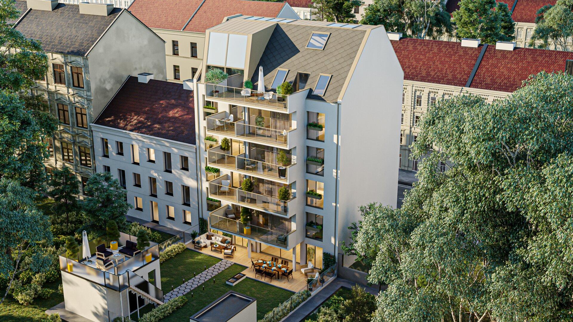 KLOPSTOCK - Wohnen mit Anspruch & Stil (Projektansicht)