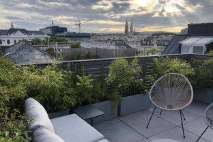 JUST PERFECT | LICHT, LUFT & HERRLICHE AUSBLICKE | Dachterrassenwohnung im Herzen der Stadt